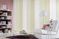 Teba Lamellenvorhang 3002, 3079, 3080 beige-weiß  Stimmungsbild