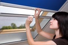Rollo für Dachflächenfenster