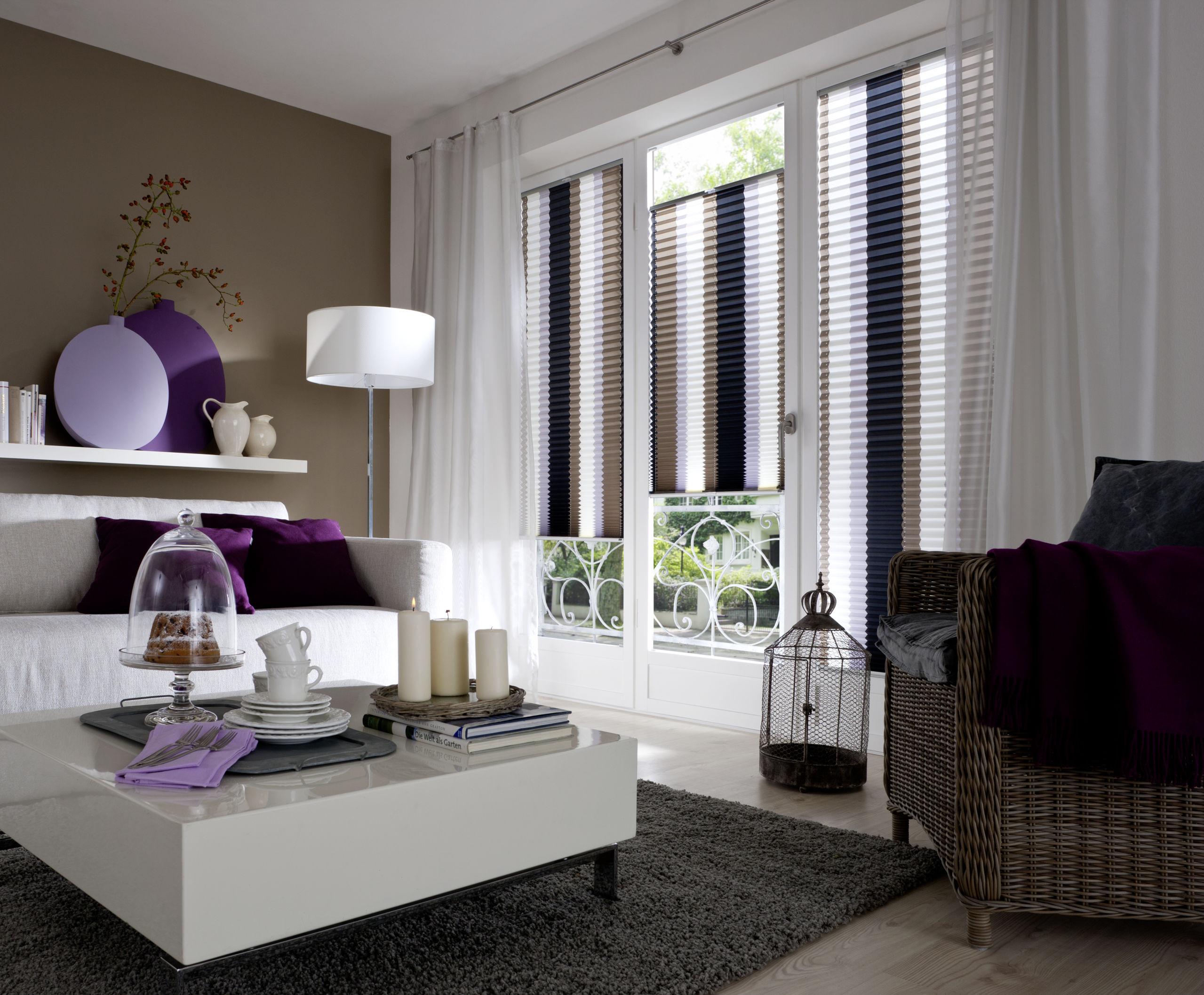 Plissee faltstore raumausstattung gauweiler speyer for Wohnzimmergestaltung bilder