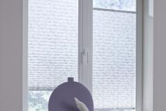 Teba Plissee 5363 grau Fenstersituation VS2Übernahme in Kollektion 2016