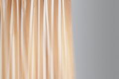 Teba Gardinenschiene oranger StoffDer Stoff ist im Lieferumfang nicht enthalten.